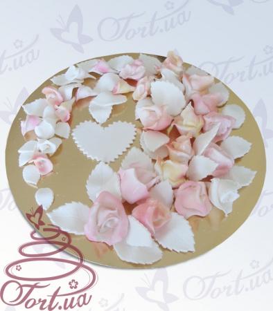Купить сахарные цветы для тортов в курске декаративные цветы для штор купить