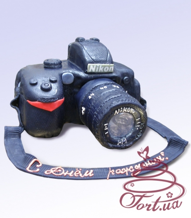 Торт фотоаппарат на заказ киев